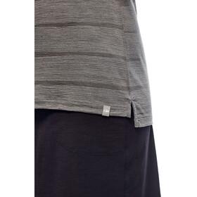 Icebreaker Aria Combed Lines Sleeveless Shirt Women metal/snow